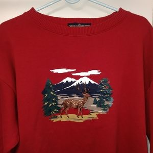 Cape Isle Knitters Mens Sweatshirt XL